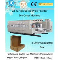 Quality Semi Automatic Die-Cutting Carton Making Machine 900×1900mm Printing Area wholesale