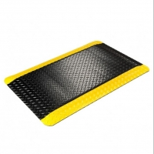 Quality Black Yellow Car Floor 20m 10e9 Ohm  EVA ESD Mat wholesale