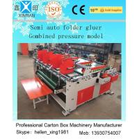 Quality Easy Operation Carton Folder Gluer Machine With Pressure Press Function wholesale