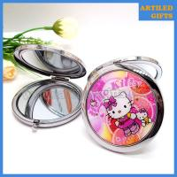 Hello Kitty stainless steel foldable makeup mirror 3