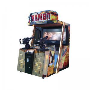 "Quality Rambo Shooting Arcade Game Machine /  55"" Shooting Arcade Cabinet wholesale"