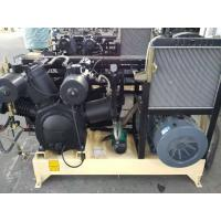 Quality Water Cooling Piston Air Compressor Reciprocating Three Stage With Silencer wholesale
