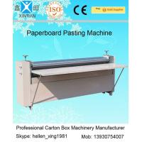 Quality Corrugated Paperboard Automatic Cartoning Machine BJ Series Of Gum Mounting Machine wholesale