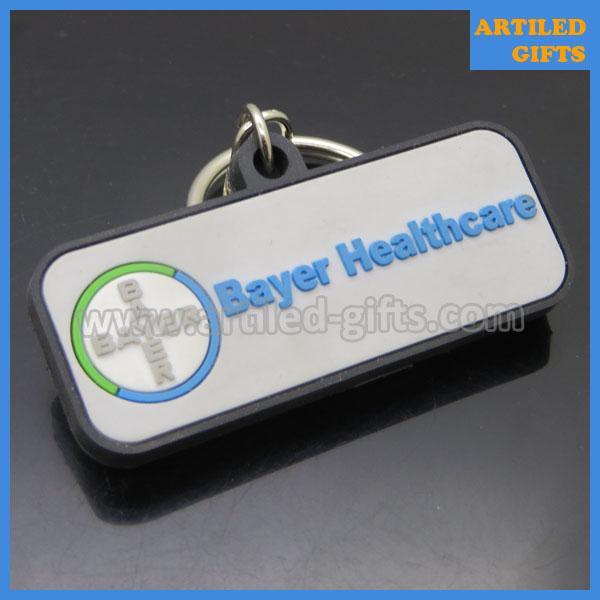 Bayer Company healthcare PVC keychains 4