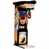 Buy cheap 1 - 6 Players Boxing Punch Game Machine Sports Arcade Machine 180W from wholesalers