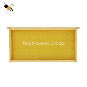 Quality Pine Wood Wax Foundation Stainless Steel Wire Langstroth Frames wholesale