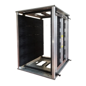 Quality Antistatic 200kg 50pcs PCB Slots ESD Magazine Rack wholesale