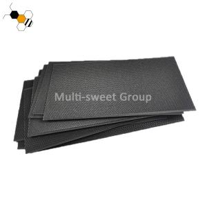 Quality Black Plastic 5.4mm Cell 425*212mm Bee Foundation Sheets wholesale