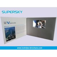 Quality Multi Player Automatic Video Gift Card Video Leather Production Business Cards wholesale