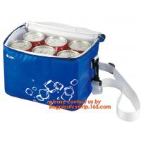 Quality polyester cheap simple insulated cooler bag for food, Promotional custom recyclable aluminum foil picnic insulated lunch wholesale