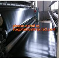 Quality geomembrane dam liner/ HDPE reinforced hdpe geomembrane fish farm pond liner for sale,dam liner 1mm hdpe geomembrane PAC wholesale