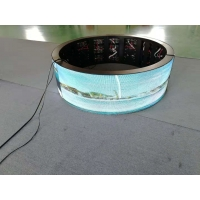 Quality Curved 360 degree SMD2121 1200cd/m2 Flexible Led Screen wholesale