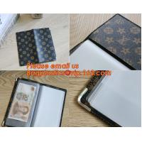 Quality A2/A3/A4/A5 plastisc display book with insert cover 20 pocket wholesale