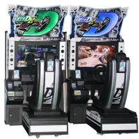 Quality Initial D8 Electronic Driving Simulator Arcade Machine For Shopping Center wholesale