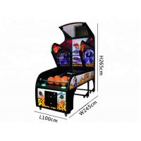 Quality Luxury Basketball Arcade Machine Coin Operated  Metal Material For Amusement Park wholesale