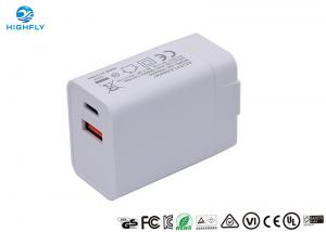 Quality PD QC3.0 Charging Quick Dual USB 18W Universal Travel Charger wholesale