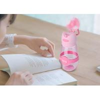 Quality Plastic shaker outdoor sports water cup with mini fan 400ml wholesale