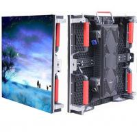 Quality Waterproof Outdoor LED Video Wall Rental  P4.81 500*1000mm Die Casting Cabinet wholesale
