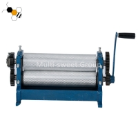 Quality Aluminum Alloy 86mm Cylinder 450mm Roller Beeswax Foundation Mill wholesale
