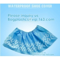 Quality Extra Thick Disposable Shoe & Boot Covers   Durable & Water Resistant Booties   Anti-Slip   One Size Fits Most wholesale