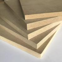 Quality Thickness 1.8 - 30mm Melamine Faced MDF Board 8% - 14% Moisture Content wholesale