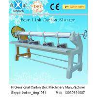 Quality Four Link Carton Box Automatic Rotary Slotter Machine 0 - 60 Pieces / Min wholesale
