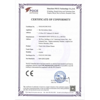 Shenzhen HONY Optical Co., Limited Certifications