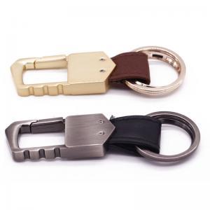 Quality Elegent Promotion Metal Key Ring , Personalized Gift Custom Metal Keyrings wholesale