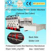 Quality Adjusted Recycle Carton Making Machine By 20CrMnTi Alloy Steel For Kick Feeding wholesale