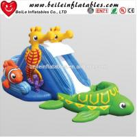 Quality Custom interesting Marine Life small inflatable water slide for kids wholesale