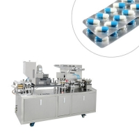 Quality Semi Auto Aluminum Tablet Capsule Blister Packing Machine for Pharmacy, Foods wholesale