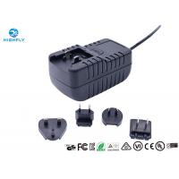 Quality 18W Interchangeable Plug Power Adapter 12V 1.5A Switching AC/DC Adapters wholesale