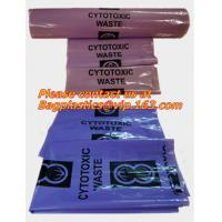 Quality Cytotoxic Waste Bags Clinical Autoclavable Biohazard Bags Transport Bags Blood Bags wholesale