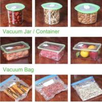 Quality VACUUM JAR, VACUUM CONTAINER, channel vacuum pouch food storage bag, Safety food grade vacuum storage bag, home used vac wholesale