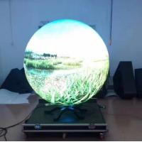 Quality P4 SMD Curved Led Display High Definition Video Ball in the Museum wholesale
