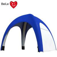 Quality Commercial 0.5 Nylon Oxford blue color inflatable spider tent wholesale