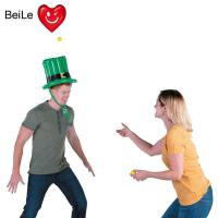 Quality Customized party inflatable hat toss game with balls wholesale
