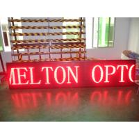 Quality Sports Commercial P10 Scrolling LED Sign High Brightness 100 Meters wholesale
