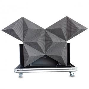 Quality full color led display screen led diamond dj booth sphere arc globe led screen wholesale