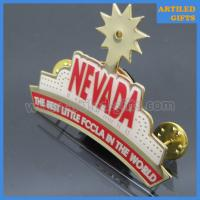 Quality The best little FCCLA in the world Nevada blinking LED lapel pins wholesale