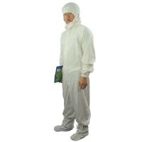 Quality Dust Proof 100D 98% Cotton Antistatic Coveralls ESD Smock wholesale