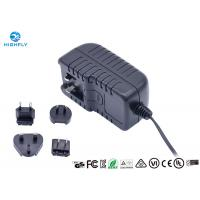 Quality 18V 1A Interchangeable Plug Power Adapter Power Supply With UL CE GS Certifications wholesale