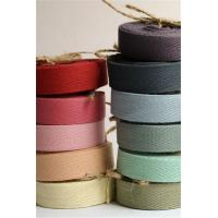 Quality Multi Color Printed Cotton Ribbon Double Face Style Environmentally Friendly wholesale