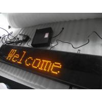Quality Double Color Outdoor P10 P12 1/8 Scan Traffic Led Sign wholesale