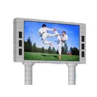 Buy cheap Aluminum Cabinet HD Outdoor Waterproof Led Advertising Screen P6 P8 P10 from wholesalers