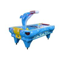 Quality Indoor Game Electric Air Hockey Table Durable Metal + FRP Material wholesale