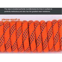 Quality 6mm accessory cord climbing rope nylon 66, high strength fire escape safety climbing rope wholesale