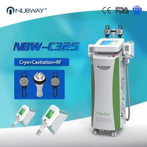 Quality Beauty Equipments Cavitaion RF Weight Loss Fat Freezing Cryolipolysis slimming machine wholesale