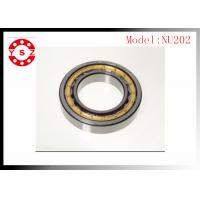 Quality NSK FAG Cylindrical Roller Bearings Chrome Steel  NU202 ID 15 mm wholesale