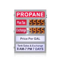 Quality Colorful Gas Sign Full Color Outdoor Advertising Led Display 2 Years Warranty wholesale